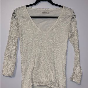 Abercrombie & Fitch | Lace Long Sleeve